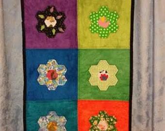 Hexagon Flower Table Runner