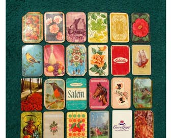 HUGE Lot of Assorted Vintage Playing Cards - A Variety of Images, Great for Art