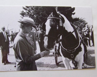 Vintage Postcard Her Royal Highness Princess Alexandra and Appleby Island of Sark 1990 British Royalty Photo Post Card Unused