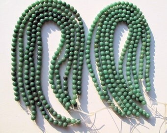 Aventurine Beads, Green 8mm Round , Wholesale Lot of 10 Strands
