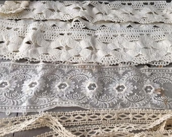 French lace pieces