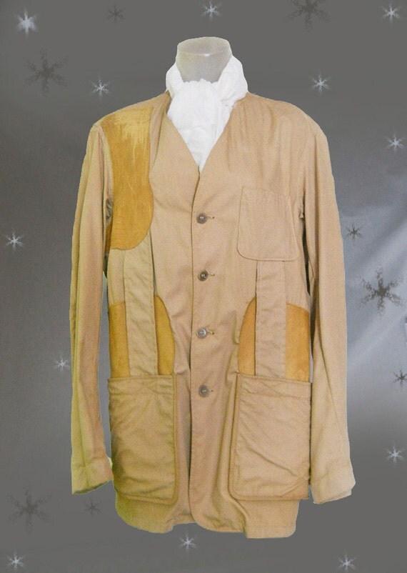 s vintage safari jacket by masland as is