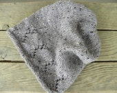 The Madilyn Slouch Hat Knitting PATTERN, One Skein Knit, Quick Knit Gifts, Aran Weight, Last minute gifts, gifts for her, cozy hats