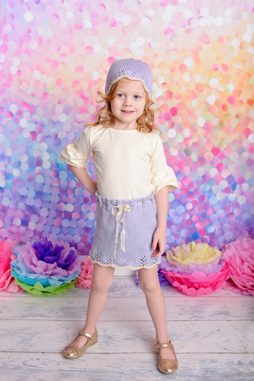 Knitting Skirt Girl : Girl s knit skirt gracie knitting pattern in sizes