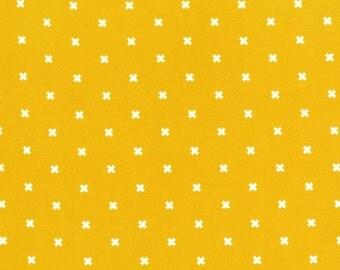 XOXO Yellow Dandelion 5001 002 Basics by Cotton + Steel