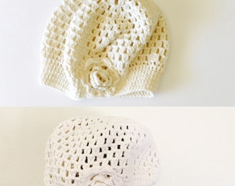 Over Sized ALPACA Hat/Beanie, floral Crochet Hat, Hand Made in the USA, Item no DeBg09