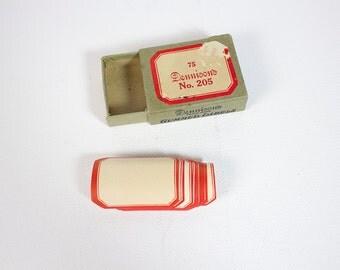 Vintage Dennison's No. 205 Gummed Labels