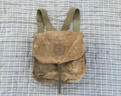 SALE Vintage Canvas Distressed Boy Scouts of America New York City Backpack