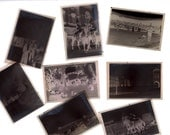 Vintage Photo Negative Grab Bag - 10 Random Photo Negatives - Mixed Media, Altered Art, Collage, Scrapbooking, Assemblage Supplies