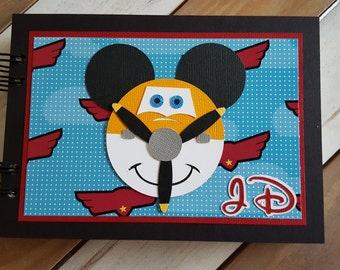 Personalized Disney Autograph Book Inspired by Dusty