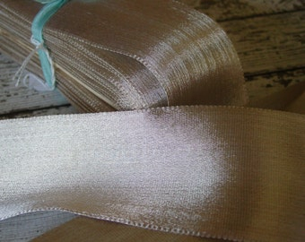 GORGEOUS Old Antique French wide SILVER METALLIC ribbon, one yard with more available