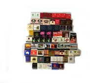 Vintage 1960s to 1980s collectable international matches, hotel travel collectables, souvenir matchboxes