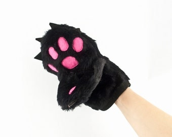 Kitchen Glove - Oven Mitt in a Funny Form of Teddy Bear Paw