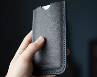 Full Grain Leather iPhone 6/7 Plus Sleeve