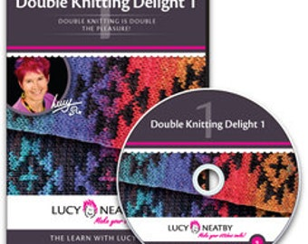 Lucy Neatby's Double Knitting Delight 1 DVD