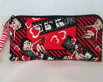Betty Boop Pencil Case/cosmetic pouch