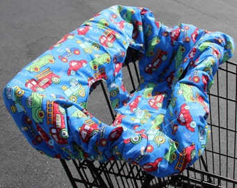 Baby Boy Shopping Cart Cover ~ 23B-1014