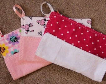 Baby Wash Cloths~set of 3 #22G-1055