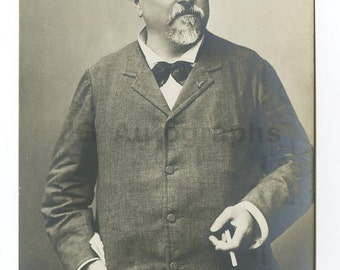 Robert Edeson - Silent Movie Actor - Silver Print Postcard