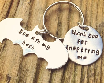 Batman Keychain, Boyfriend Gift, Father's Day Gifts,Batman Gift, Boyfriend Gift, personalized Keychain, natashaaloha