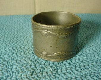 Kayserzinn Pewter Napkin Ring Garland Swags Neoclassical