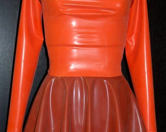 Latex Cosplay, Latex Velma Inspired Halloween Costume