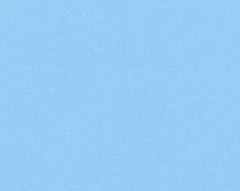 Lake, Kona Cotton, Robert Kaufman Fabric, 1/2 Yard