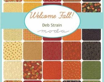 Welcome Fall, Charm Pack, Moda Fabric