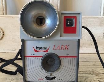 Vintage Imperial Lark Camera - Fun for Prop or Decor - Retro Camera