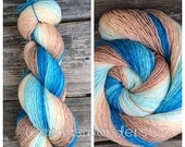 If its the Beaches, Gradient Dyed Yarn, Hand Dyed Yarn, Fingering Weight
