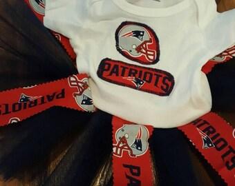 New England Patriots tutu dress