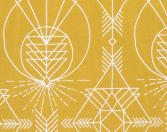 1 Yard Native Maize, Wander Collection by Joel Dewberry, Quilting Cotton, Gender Neutral Fabric