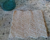 Chevron Farmhouse Style 100% Cotton Dishcloth Kitchen Cleaning Cloth