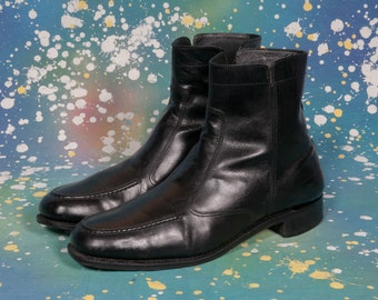 Black BEATLE Boots Men's Size 11