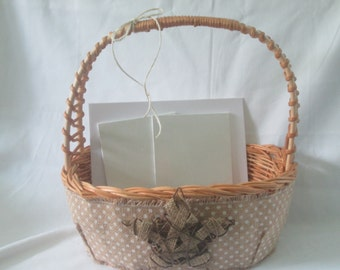 Wedding Card Basket Or For Shower Other Party Great Gift Too