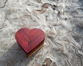I Love You Carved Wooden Large Twisting Heart