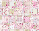 Rosewood Lane Quilt Pattern in 6 Sizes from Wall to King ~ Fat Quarter Friendly ~ PDF Pattern ~ Quick and Easy ~ BusyHandsQuilts