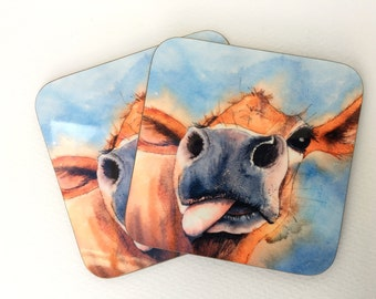 Silly Moo- 'Gertie' coaster