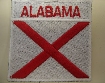 Alabama with State Flag Patch