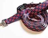 Phish Dog Collar (Webbing), Fishman Collar, Phish Gift, Fishman Donut, Webbing Collar, Soft Dog Collar, Phish Leash (sold separately)