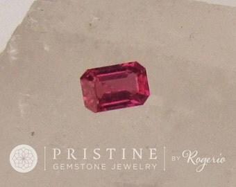 Purple Sapphire Emerald Cut Shape for Fine Gemstone Jewelry Ring or Engagement Ring September Birthstone Loose Gemstone