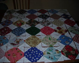 Snowball Quilt Blocks - Christmas