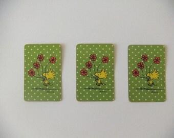 Miniature Mini Woodstock Playing Cards, 1960's Retro, Complete Set 52 Cards, Hallmark