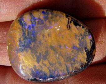 26 x 23 mm Australian Koroit Boulder Opal Cabochon -  48.0 ct