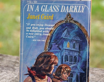 In a Glass Darkly by Janet Caird, book, Horror, Gothic, Macabre, Fawcett books