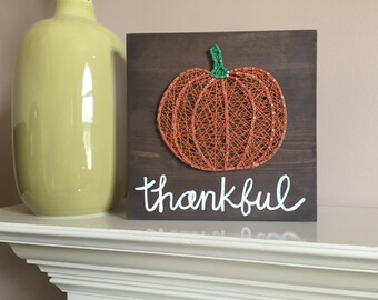 Made to order - string art Pumpkin