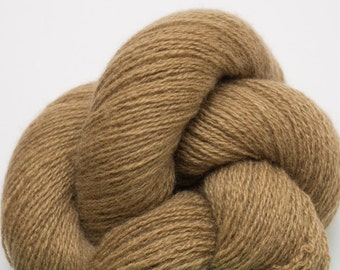 Tawny Cashmere Fine Fingering to Heavy Lace Weight Recycled Yarn, CSH00195