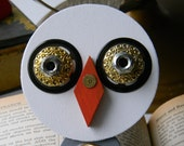 Bird Ornament - Hanging Decor - Found Object Decor by Jen Hardwick