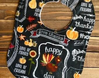 Thanksgiving Pumpkin Pie Baby Bib