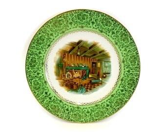 Vintage Salem China Co 'Imperial' Service Decorative Plate (E6708)